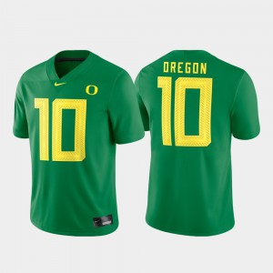 #10 Game Football Green For Men's Oregon Jersey 799356-529