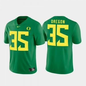 Game Oregon Jersey For Men Green #35 669541-575