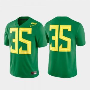 Men's Green #35 Limited Football Oregon Jersey 332656-630