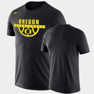 Oregon T-Shirt Drop Legend Black Men Performance Basketball 566808-256