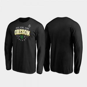 Black Oregon T-Shirt Tackle Long Sleeve 2020 Rose Bowl Bound For Men's 698727-500