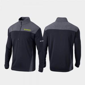 Oregon Jacket Omni-Wick Standard For Men's Quarter-Zip Pullover Black 583968-732