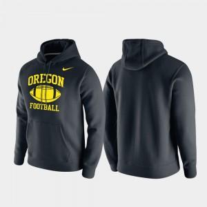 Oregon Hoodie For Men Black Club Fleece Retro Football 438687-989