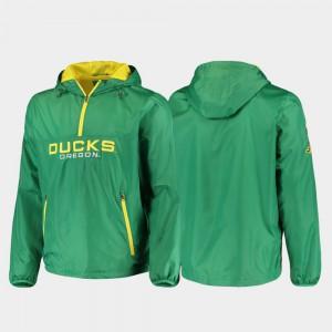 Half-Zip Oregon Jacket Base Runner Green Men's 945599-794