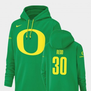 Champ Drive Green For Men Jaylon Redd Oregon Hoodie Football Performance #30 188363-918