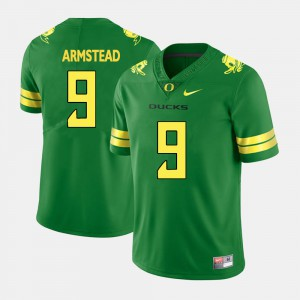 Green For Men's Arik Armstead Oregon Jersey College Football #9 922733-136