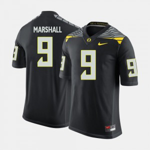Black Byron Marshall Oregon Jersey #9 College Football For Men's 444873-300