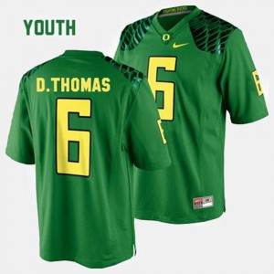 College Football For Kids #6 De'Anthony Thomas Oregon Jersey Green 140864-790
