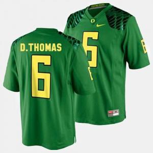 De'Anthony Thomas Oregon Jersey Mens #6 College Football Green 767068-758