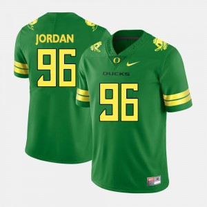 Green For Men's Dion Jordan Oregon Jersey College Football #96 467302-129