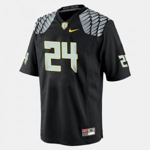 For Men Black Kenjon Barner Oregon Jersey College Football #24 113301-958