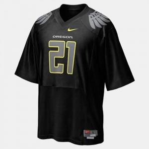 LaMichael James Oregon Jersey #21 Black College Football For Men's 434513-141