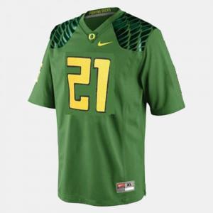 Green College Football LaMichael James Oregon Jersey #21 For Men 583270-613