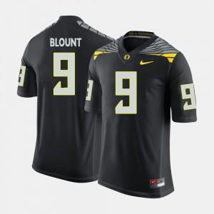 Black Men #9 College Football LeGarrette Blount Oregon Jersey 692806-408