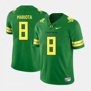 Marcus Mariota Oregon Jersey Mens #8 Green College Football 742761-382