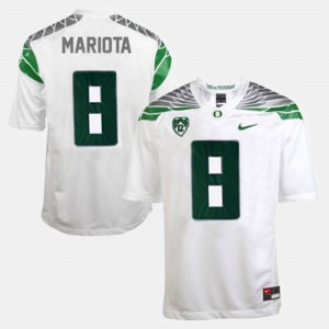 White College Football Marcus Mariota Oregon Jersey #8 For Men 610912-755