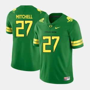 Mens College Football Terrance Mitchell Oregon Jersey Green #27 692181-573