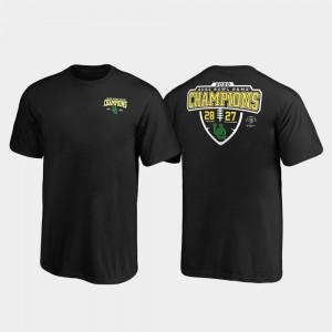 2020 Rose Bowl Champions Black Oregon T-Shirt Lateral Score For Kids 262835-860
